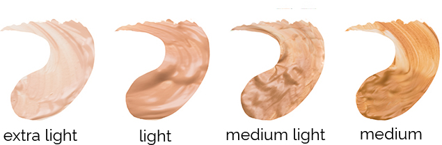 clarol conceal and shield colour swatches